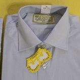 Качественные рубашки для мальчиков Царевич, школа