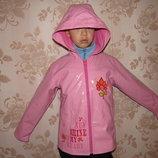 Продам куртку, дождевик не промокает, р 134,140