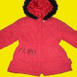 Зимнее пальто MINA на 2-4 года