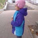 Курточка на девочку 116-122 р.