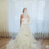 Элегентное свадебное платье ENZOANI 42-46р