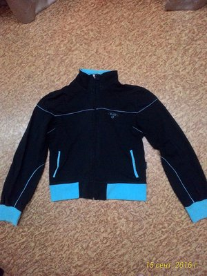 Спортивная кофта темно синего цвета