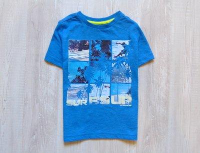 Стильная футболка для мальчика. F&F. Размер 3-4 года. Состояние новой вещи, не ношенная