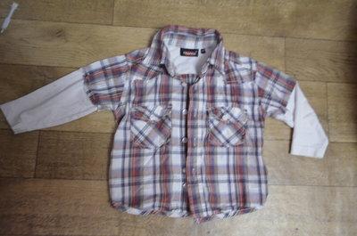 Рубашка-Реглан р.92
