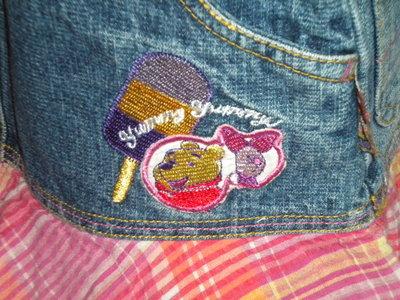 яркая юбка 5-6 лет Дисней