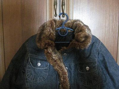 Качественная утепленная деми курточка р.122