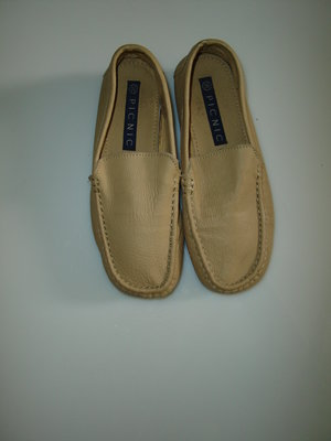 Мягкие кожаные мокасины Picnic , стелька 22,5 см, размер 36, маломерят