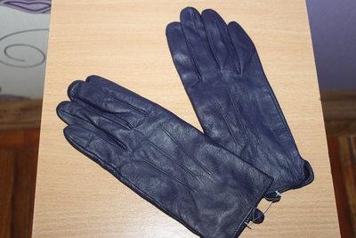 Перчатки George натур кожа