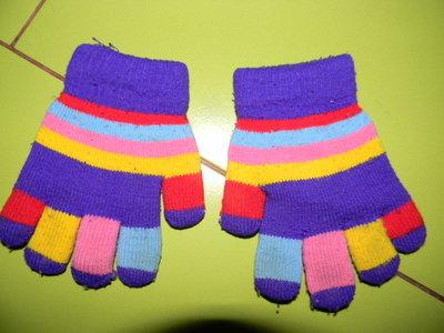 перчатки детские зимние двойные на 2-4 года б/у