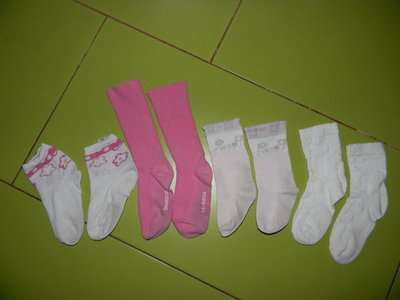 носки для девочки 2-3 лет отл. сост.