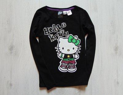 Стильный реглан Hello Kitty для девочки. H&M. Размер 8-10 лет. Состояние новой вещи